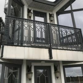 Кованые балконы и ограждения